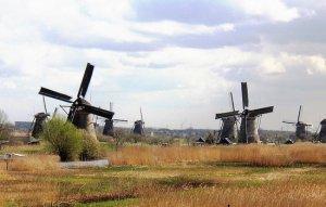 תחנות הרוח בקינדרדייק