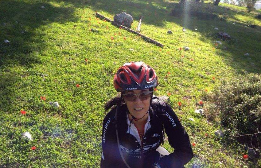 אורנה ניומן במהלך הטיול על הדנובה