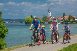 טיול אופניים משפחתי סביב אגם קונסטנץ