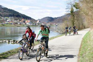 טיול אופניים לאורך הדנובה למשפחות